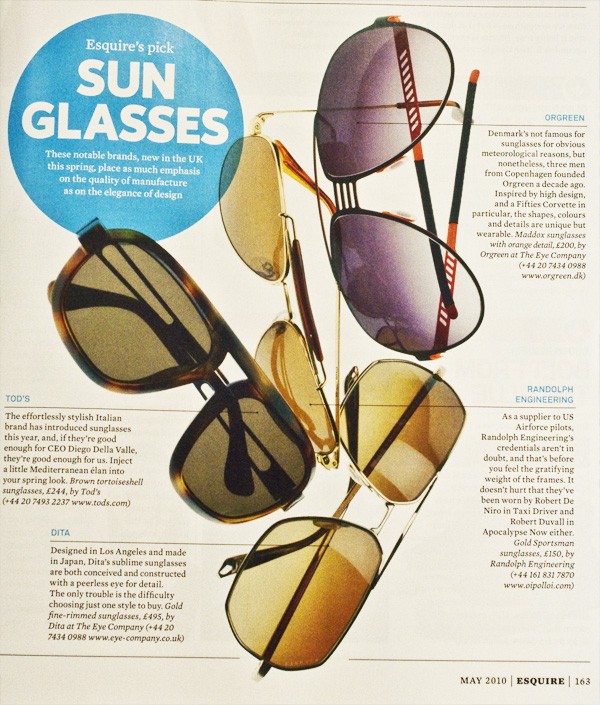 esquire 2010 sunglasses