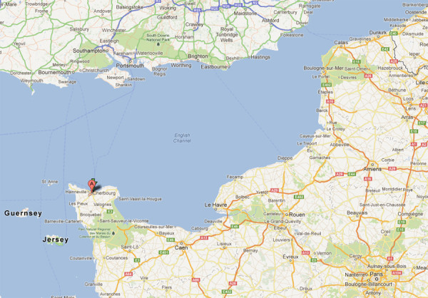cherbourg-map